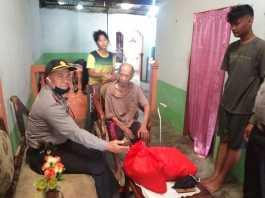 Sambut HUT Bhayangkara, Polresta Deli Serdang Berikan Bansos kepada Purnawirawan Polri