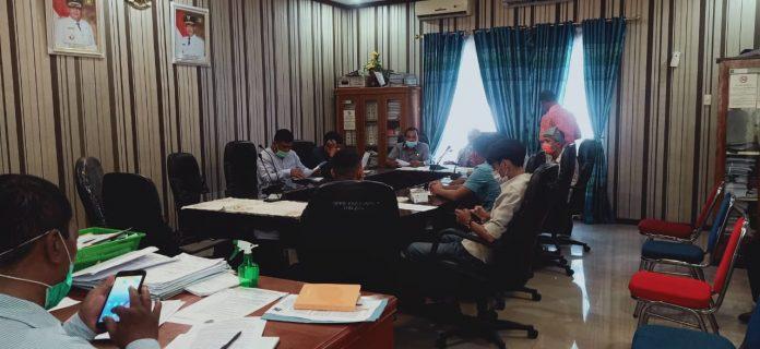 Komisi B DPRD Langkat, Terima Usulan PB MBN Langkat Bentuk Pansus Covid-19