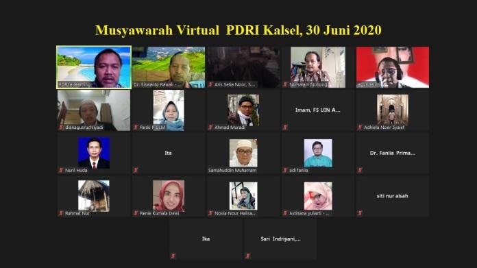 Samahuddin Muharram Terpilih secara Aklamasi sebagai Ketua DPW PDRI Kalimantan Selatan