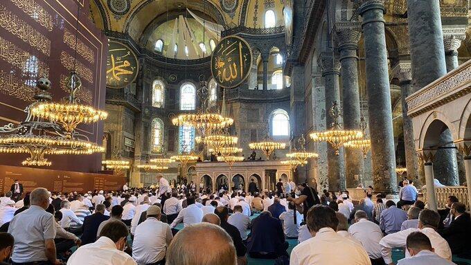 Hagia Sophia Jadi Masjid, Turki Kembali Kecam Yunani