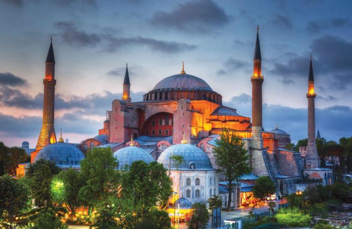 Salat Jumat Pertama di Hagia Sophia Setelah 86 Tahun