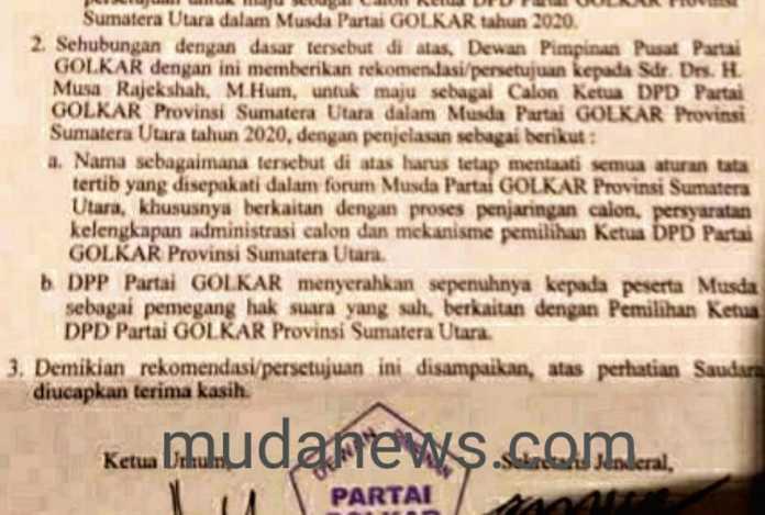 Hoax Ijeck Calon Tunggal, Musda X Golkar Sumut di Jakarta (2)