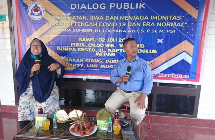 PB IKA UMA, Kuatkan Silaturahmi dan Gelar Dialog Publik Covid-19