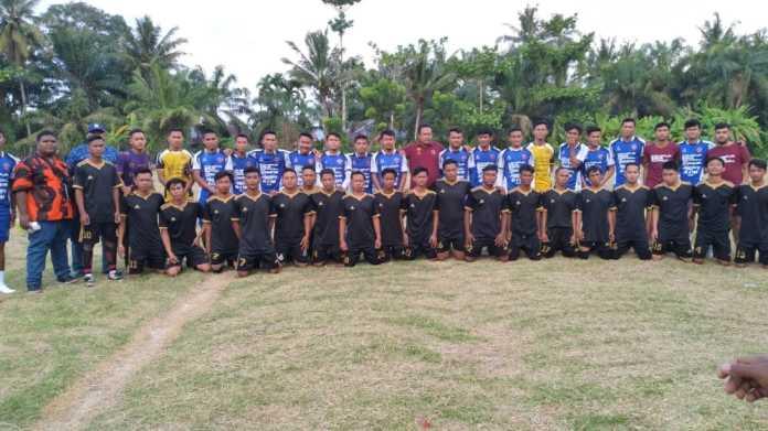 Pemuda Pancasila Desa Selotong, Selenggarakan Uji Coba PSBR Real Bahari FC Vs Campursari Official