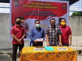 Polresta Deli Serdang Tegaskan Tetap Lakukan Penyelidikan Terkait Kasus Pembakaran Rumah Korban Warsito