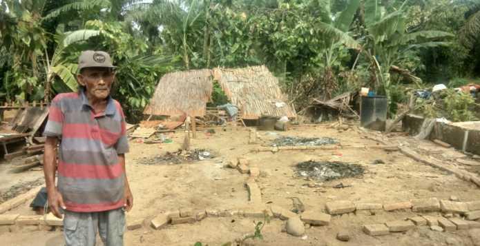 Puting Beliung di Hinai Langkat, Sudah Tiga Hari Warga Belum Mendapat Bantuan Pemerintah (2)