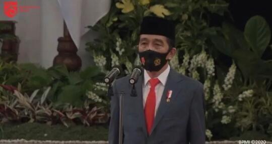 HUT Bhayangkara ke-74, Jokowi Pimpin Upacara secara Virtual