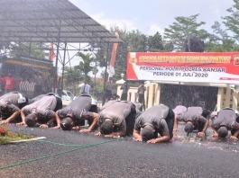 Hari Bhayangkara ke-74, 29 Personil Polres Banjar Terima Kenaikan Pangkat