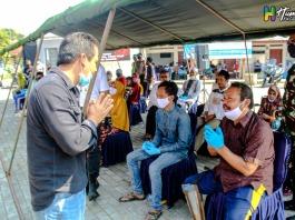 Bupati Ciamis, Sambut Kedatangan Rombongan Touring Baksos HUT Bhayangkara