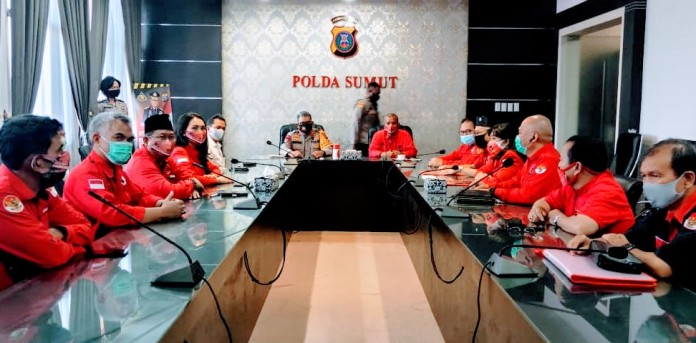 PDIP Sumatera Utara, Dukung Polisi Hukum Pembakaran Bendera dan Laporkan 4 Akun Facebook