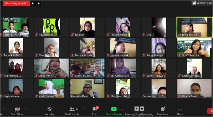 PKPA Bersama Laskar No Plastik, Inisiasi No Plastik Online Festival