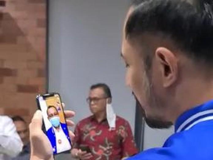 Akhyar Nasution, Video Call dengan AHY Sehari Setelah Disindir Megawati