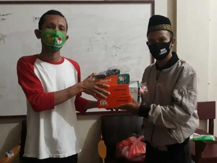 BKPRMI Kuala Begumit Akan Gelar FESPODES, PB MBN Langkat Serahkan Bantuan Masker dan Vitamin