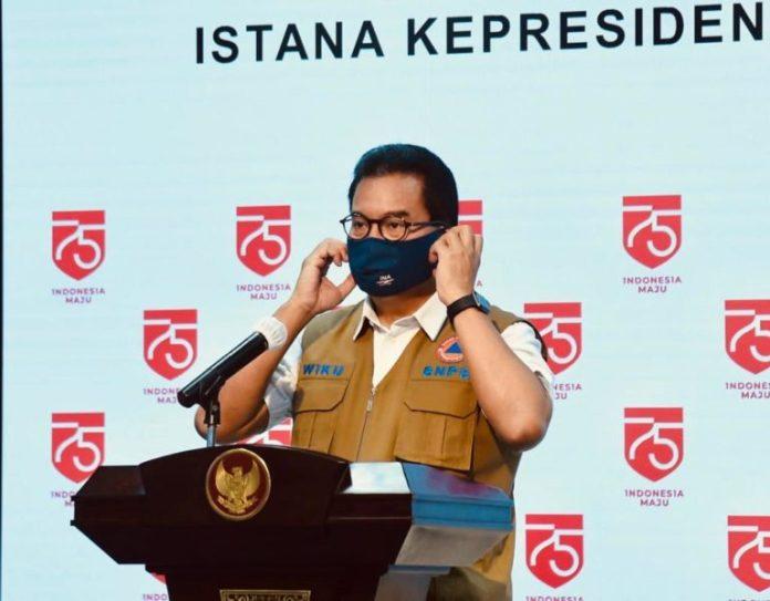 Jubir Satgas Covid-19: Kesembuhan Covid-19 di Indonesia Tembus 100.000