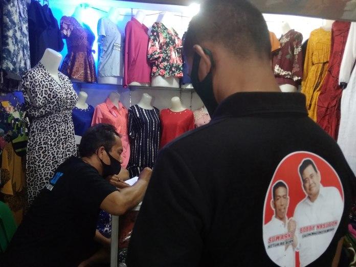Relawan Bobby Nasution (Re-Born), Jemput Aspirasi Pedagang