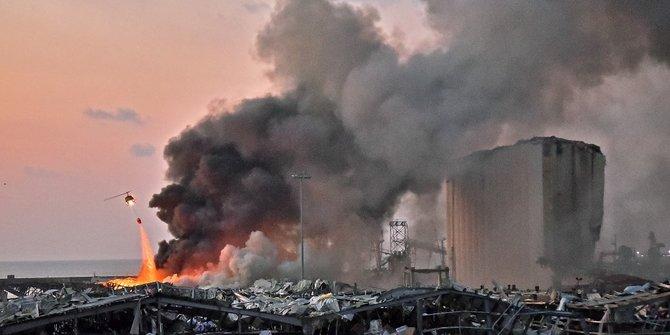Korban Ledakan di Beirut Lebanon Terus Bertambah: 73 Tewas dan 3.700 Luka