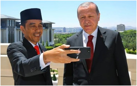 Presiden Turki Erdogan, Telepon Jokowi Ucapkan Selamat Hari Raya Idul Adha