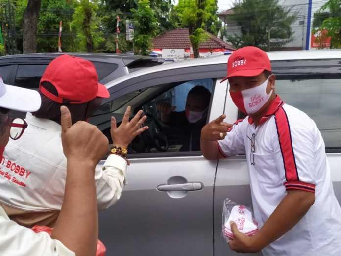 Relawan Pendukung Sejati Bobby Nasution, Jum'at Barokah Semangat Merah Putih Dalam Menyambut HUT RI ke 75