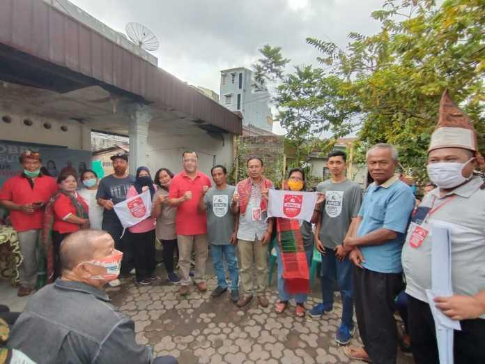 Relawan Bonus, Resmikan Posko di Medan Barat, Helvetia dan Sunggal