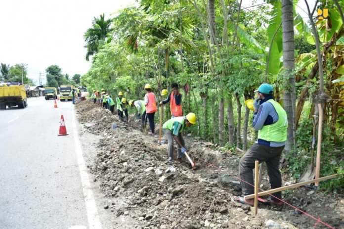 Kementerian PUPR Perluasan Program Padat Karya Tunai di 34 Provinsi