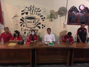 Jelang Pengumuman Calon Kepala Daerah, PAC dan Ranting PDIP se Kecamatan Medan Timur Rapatkan Barisan