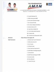 Pilkada Medan, Berikut Ini Tim Pemenangan Akhyar Nasution dan Salman Alfarisi