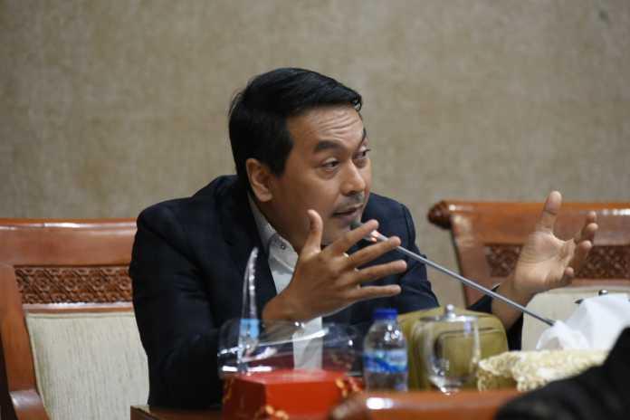Anggota DPR RI Rudi Hartono Bangun, Mempertanyakan Dengan Menkeu Soal Garuda Indonesia yang Meminta PMN