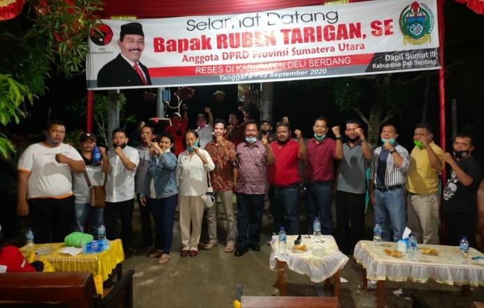 Anggota DPRD Sumut Ruben Tarigan, Ingatkan Masyarakat Jangan Mau Berkelahi dengan Pemerintah