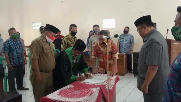 Camat Banjarsari, Berpesan Jaga Nama Baik Desa Cibadak