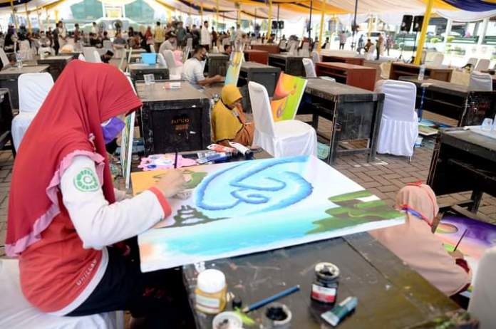Peminat Cabang Seni Kaligrafi Alquran Semakin Banyak