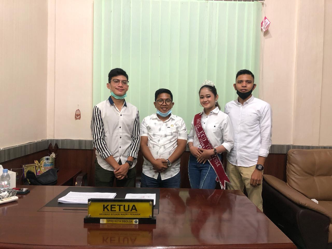 Diberangkatkan Ketua DPRD Sibolga, Miss Cindy Raih