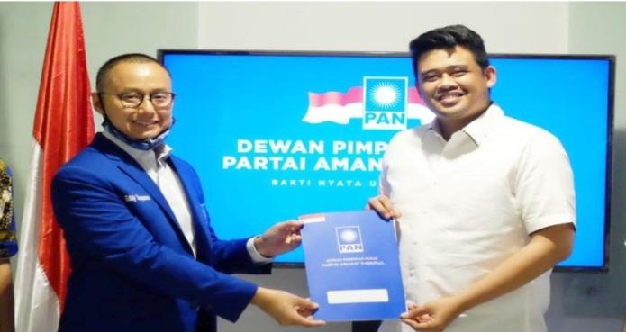 PAN Resmi Usung Bobby Nasution - Aulia Rachman