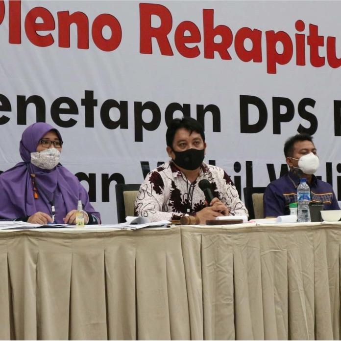 KPU Medan Tetapkan DPS Pilkada Medan Sebanyak 1.614.615 Pemilih