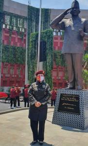 Ketua DPR RI Puan Maharani, Resmikan Patung Bung Karno di STIN