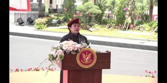 Ketua DPR RI Resmikan Patung Bung Karno di STIN