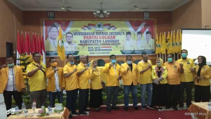 Musda Golkar Langkat, Terbit Rencana Titip Salam dengan Ahmad Doli Kunia Tanjung