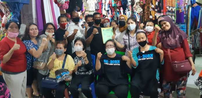 Pedagang Pasar Tradisional di Medan, Kepingin Berjumpa dengan Bobby Nasution