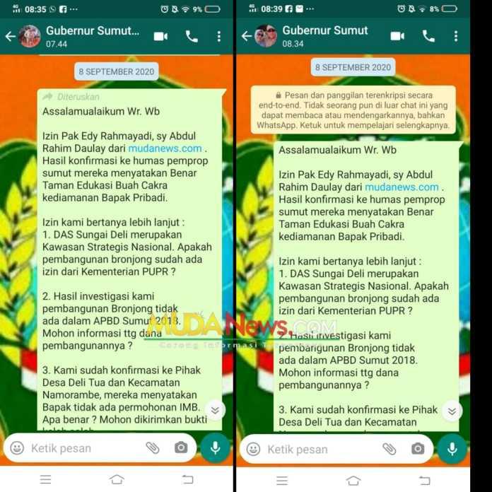 Redaksi mudanews.com Tunggu Keseriusan Humas Pempropsu