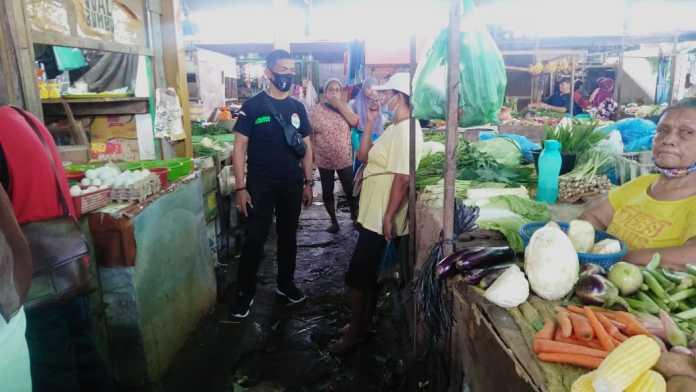 Relawan Bobby Nasution, Dengarkan Keluhan Pedagang Pasar Meranti Baru