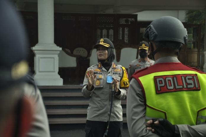 Tidak Pakai Masker di Kota Banjar, Diberikan Sanksi Nyanyikan Lagu Indonesia Raya dan Ucapkan Pancasila