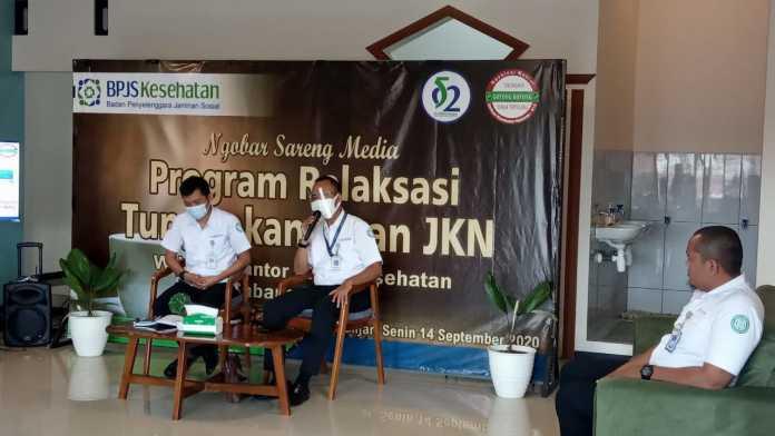 BPJS Kesehatan Banjar, Gelar Kegiatan Ngobrol Sareng Media Program Relaksasi Tunggakan Iuran JKN