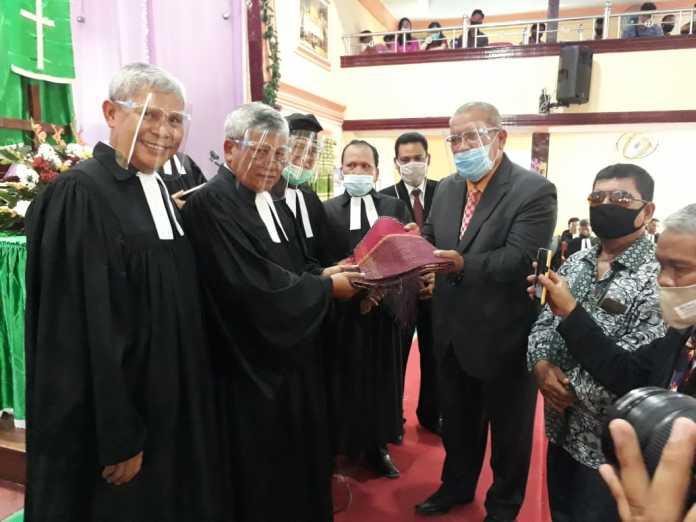 Bupati Sergai, Didoakan Dalam Kebaktian Penahbisan Pendeta, Guru Huria, Bibelvrouw Dan Diakones HKBP