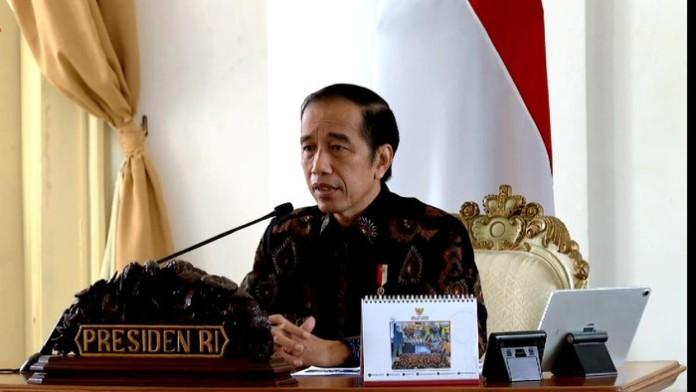 RI Sejengkal Lagi Resesi, Ini Kata Jokowi