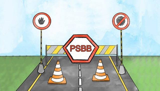 PSBB Jakarta, Berdampak pada Aktivitas Ekonomi