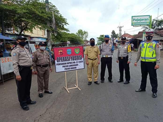 Tingkatkan Disiplin Masyarakat Patuhi Protokol Kesehatan, Polres Banjar Terus Lakukan Operasi Yustisi