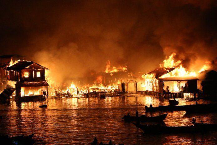 Kebakaran Hebat di Dok IX, 2 Orang Tewas