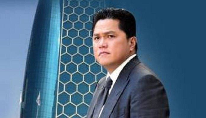 Adian Napitupulu, Duga Erick Thohir Berambisi Maju Pilpres 2024