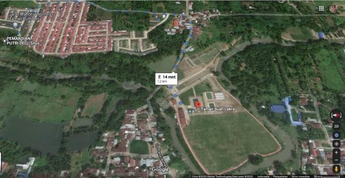 Benteng Putri Hijau Situs Kerajaan Aru Deli Tua Sumatra Timur