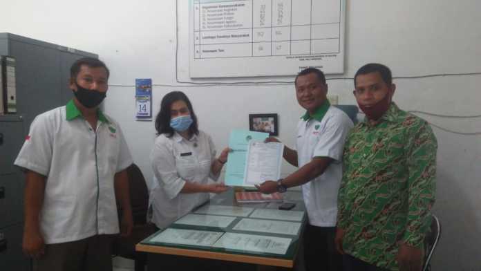 HKTI Deli Serdang, Siap Bekerja Setelah Terima SKT KESBANGPOL