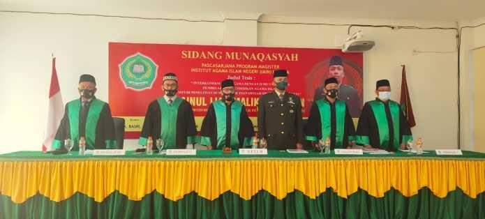 Personil Kodim 0104 Aceh Timur, Raih Gelar Magister Pendidikan